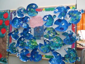 Fish on Bulletin Board